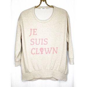 Pou Dou Dou vingt trois clown sweatshirt